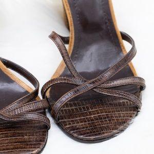 Aldo Wedge Heel Sandal
